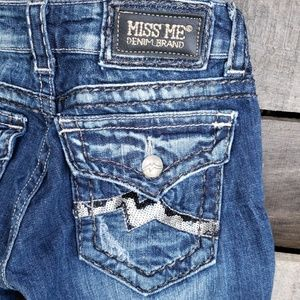 🚨NEW LIST! Miss Me Jean's Sequin Pockets Size 27